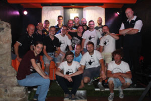 Gruppenfoto 1. Jenaer Sommercup
